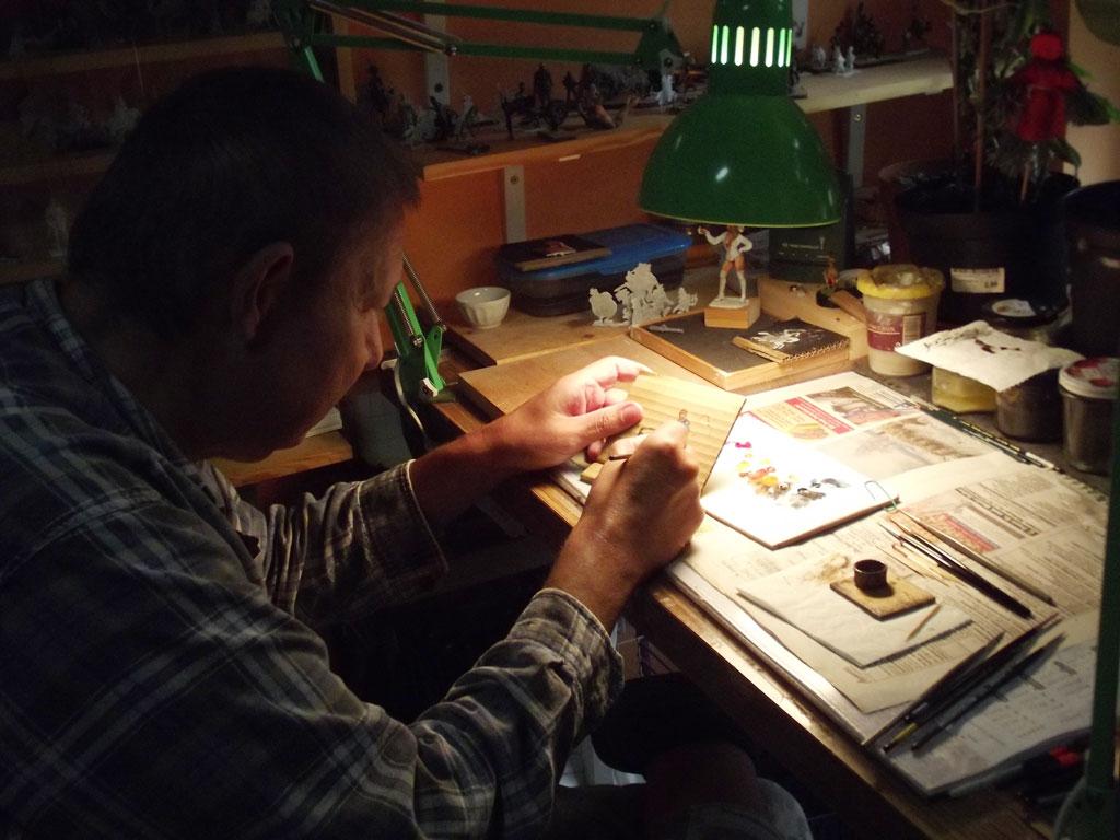 Miniaturmaler Martin Lother